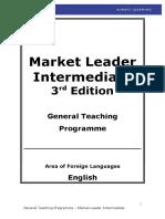 New Edition Market Leader Intermediate