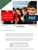 INFORME CUALITATIVO REFORMA EDUCACIÓN