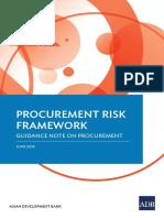 Procurement Risk Framework WB