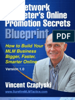 The Network Marketers Online Promotion Secrets Blueprint