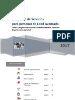 Directorio de Servicios Para Personas de Edad Avanzada 2017
