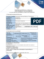 Guía de Actividades y Rúbrica de Evaluación - Fase 1 Revisar Presentación y Contenidos Del Curso