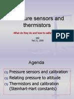 Lecture Pressure Sensor Therm is Tors