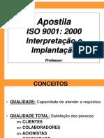Apostila Interpretacao e Implantacao ISO 9001