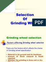 Basics of Grinding