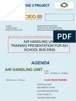 Training Manual Air Handling Unit