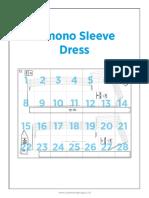LS57 Kimono Sleeve Dress