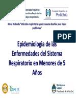 Bossio Epidemiologia de Las Enfermedades Del Sist Resp en Menores