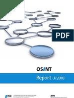 OSINT Report 3/2010t Final Q3-2010