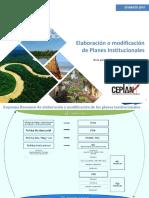 Guía Planeamiento Institucional Modificado