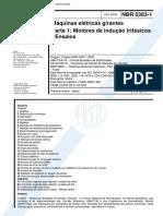 NBR 05383-1 - 2002 - Máquinas elétricas girantes - Parte 1 - Motores de indução trifásicos - Ensaios.pdf