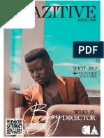 Crazitive African Magazine Issue 12.