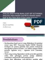 Analisis Efektivitas Sal Pencernaan