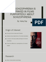 How Schizophrenia is Portrayed in Films Purportedly About Schizophrenia