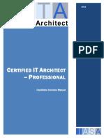 CITA P Overview Manual 2014