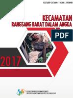 Kecamatan Rangsang Barat Dalam Angka 2017