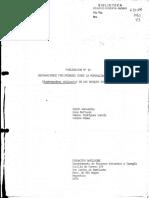 Observaciones Preliminares Sobre La Mortalidad Del Cipres (Austrocedrus chilensis)en los Bosques Patagónicos