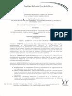 Ley Municipal 203-2015