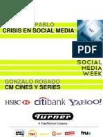 Crisis en la Red y su manejo en la web social