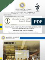 Review Jurnal Analisis Farmasi Kelompok 1