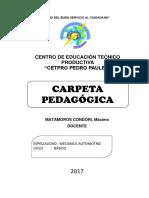 Carpeta Pedagógica Pedro Paulet