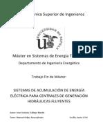 Memoria Proyecto Sistemas de Acumulacion de Energia Electrica Para Centrales Hidraulicas Fluyentes