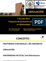 SIMULACION (en oftalmología)