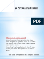 Bootstrap Air Cooling System Aerospace