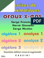 Oraux X-ENS