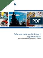 Chemical Oil Gas Catalog Señaletica Seguridad Visual