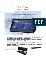 Detector de Billete Falso Sld16m