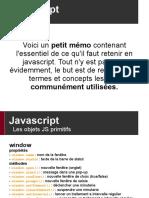 00 - Javascript - Memo