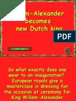 Willem-Alexander becomes new Dutch                king.pps