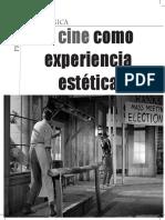El cine como experiencia Estética