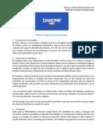 Proceso logístico de distribución Danone