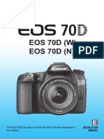 Canon 70D Detailed Manual