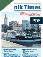 The Sibenik Times, July 12th 2008.