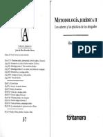 Óscar Correas-Metodología jurídica II los saberes y las prácticas de los abogados-Fontamara (2011).pdf