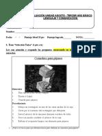 PRUEBA UNIDAD agosto lenguaje.doc