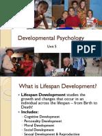 Psychology Lecture 05 - Developmental Psychology