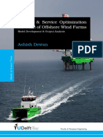 Logistic & Service Optimization for O&M of Offshore Wind Farms