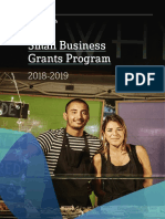 Small Business Grants Guidelines 2018-19