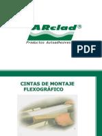 cintas de montaje flexografico