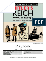 Hitler's Reich GMT Games Playbook