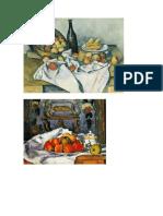 bodegones impresionistas postimpresionistas