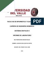 Informe de Laboratorio 3 Circuitos Multivibradores Monoestables