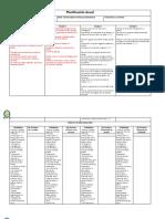 Planificacion Anual Ciencias Tercero