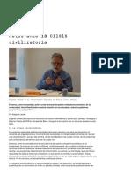 América Latina - Retos Ante La Crisis Civilizatoria - Medico International - Gustavo Esteva