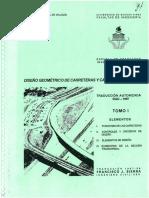 Diseño Geométrico de Carreteras, Calles y Autopistas