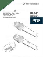 BF 512 Owner Manual